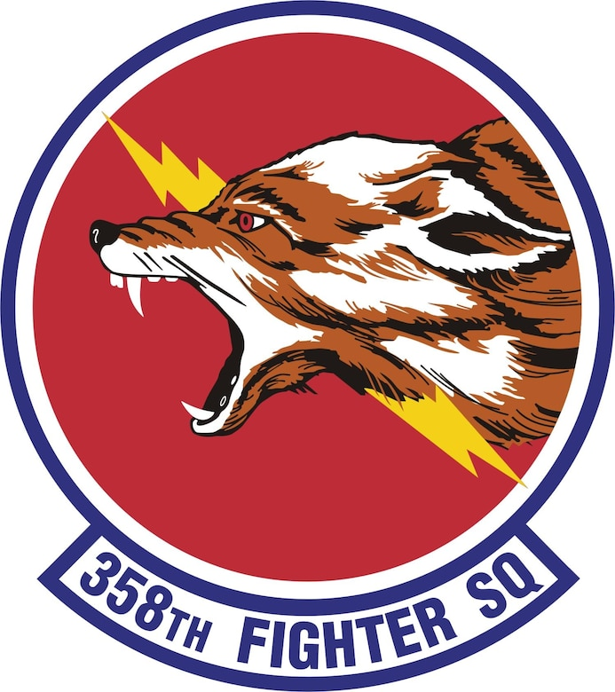 358th Fighter Squadron Patch