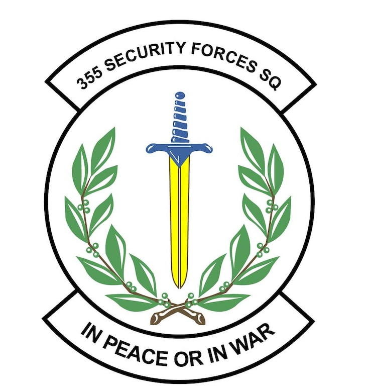 355th Security Forces Squadron patch.