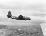 Douglas A-20 in flight. (3025 A.C.)