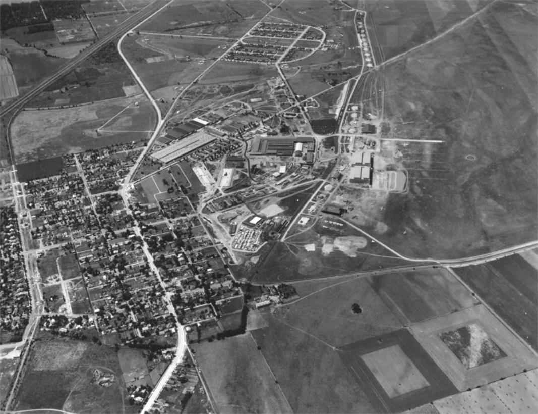 Patterson Field Construction Progress June 2, 1941