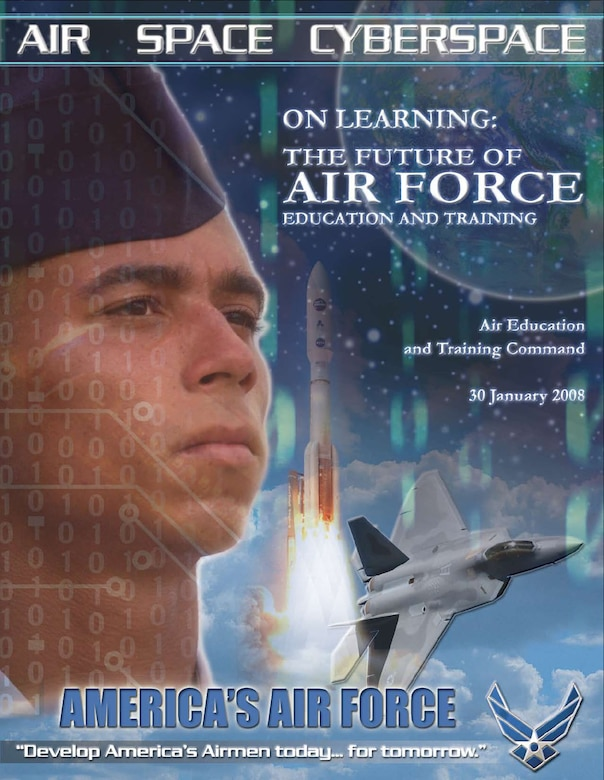 Air Education and Training Command White Paper - vision of Air Force education and training through 2030. (U.S. Air Force graphic)