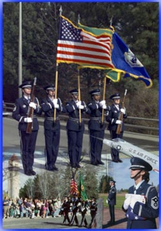 Honor Guard Collage