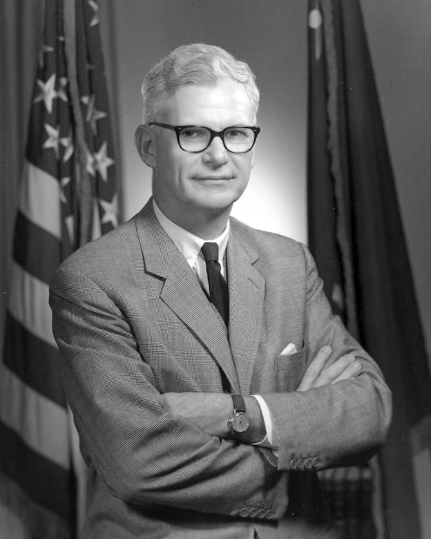 Former Secretary of the Air Force Dr. Robert C. Seamans Jr. died June 28 at his home in Beverly, Mass. He was the ninth secretary of the Air Force. (U.S. Air Force photo)
