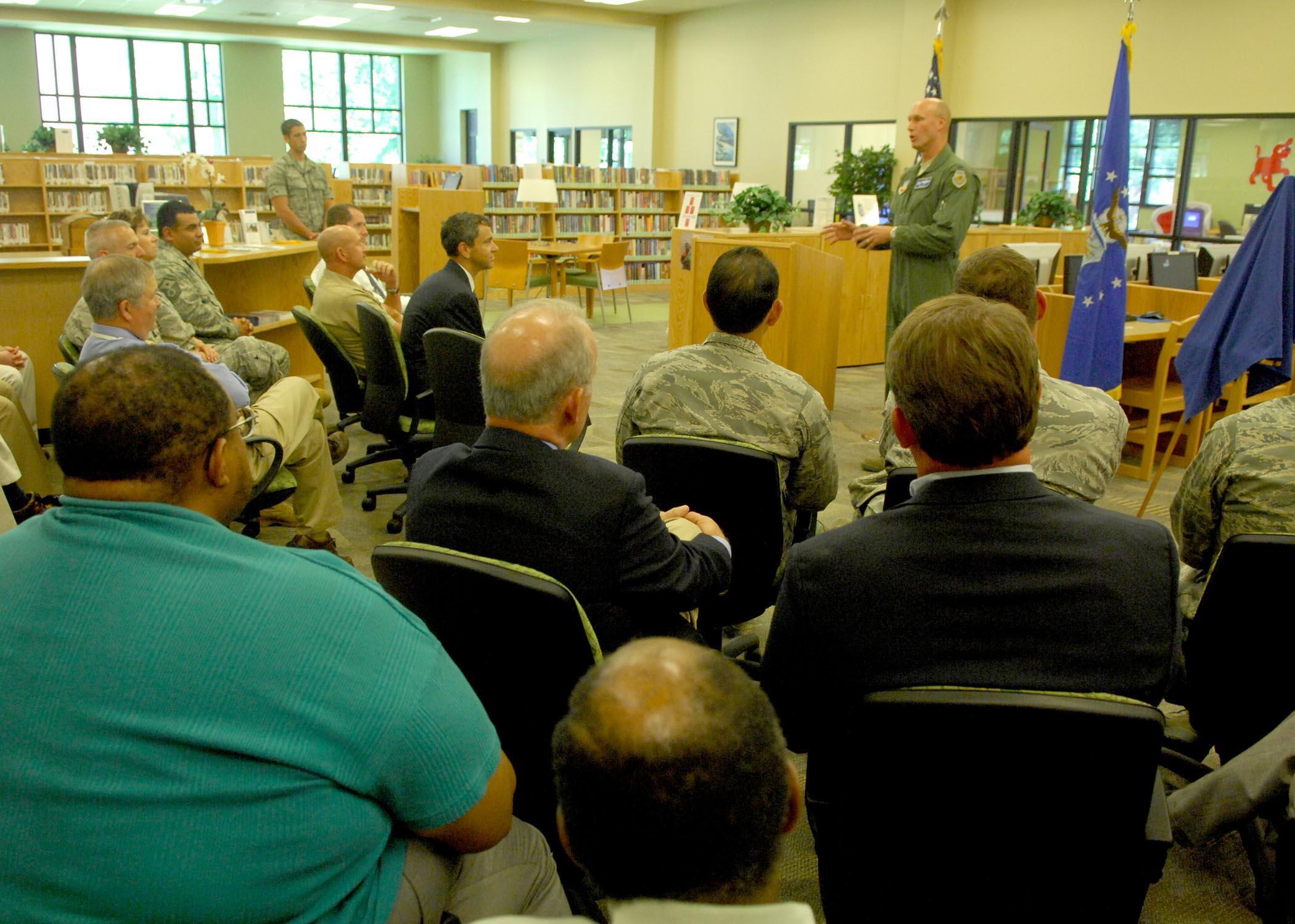 Mcelveen Library Receives Silver Leed Certification Air Combat