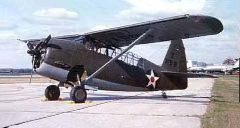 O-52 also known as the Owl was used by the 59th Observation Group for training. (Courtesy photo)