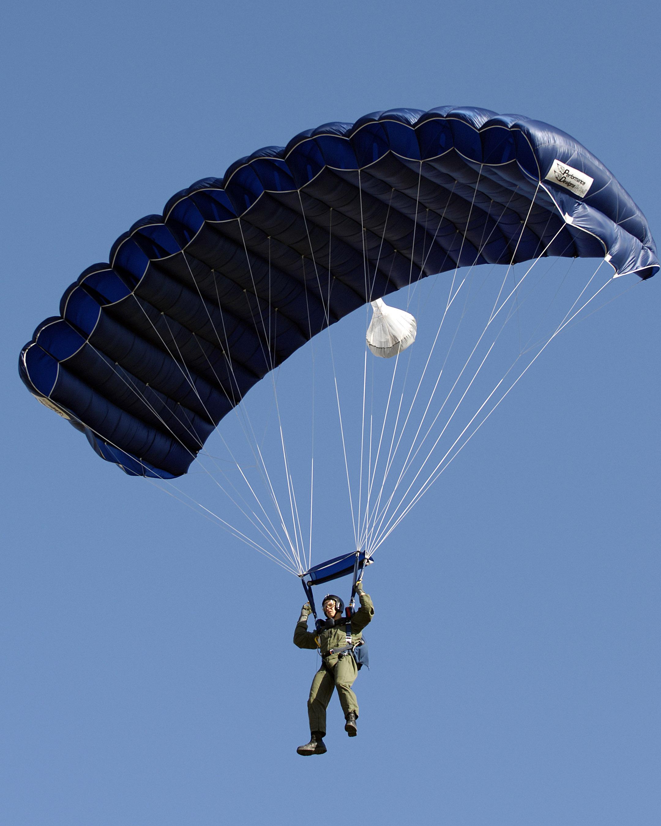newspaper articles regarding parachutes