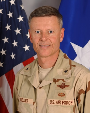 Brig. Gen. Michael Moeller, 379th Air Expeditionary Wing commander.