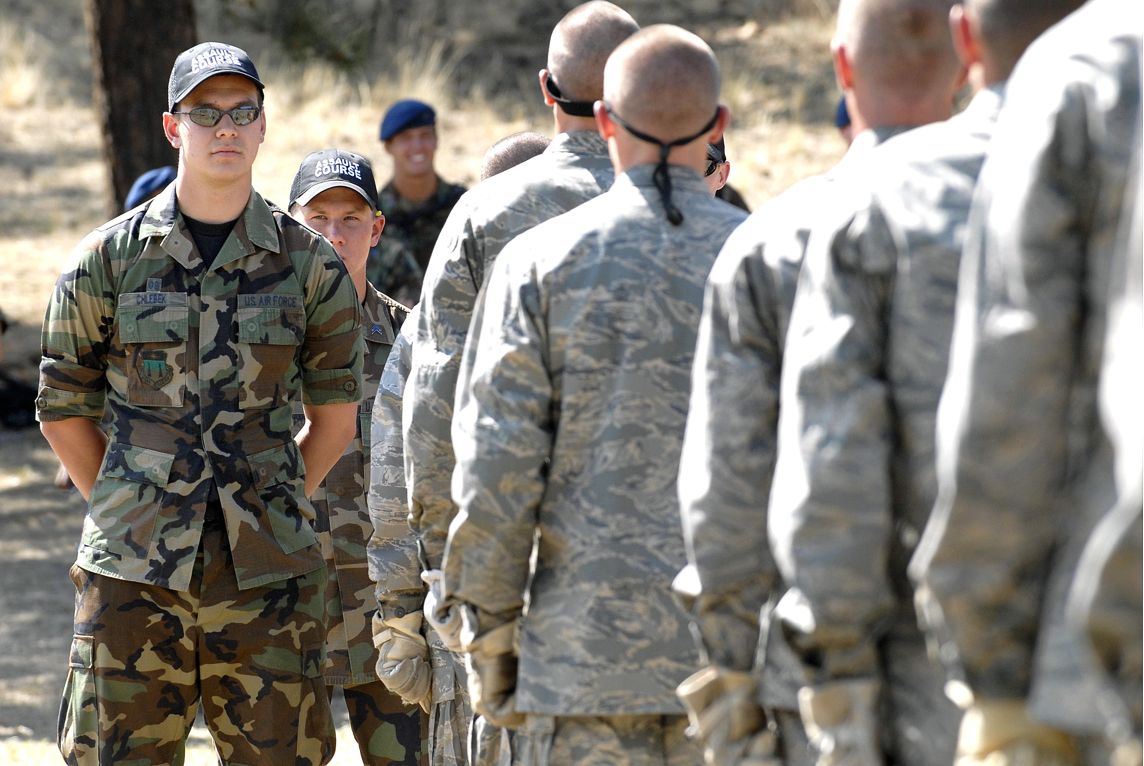 U S  Air Force Academy Cadet 1st Class Randall Chlebek