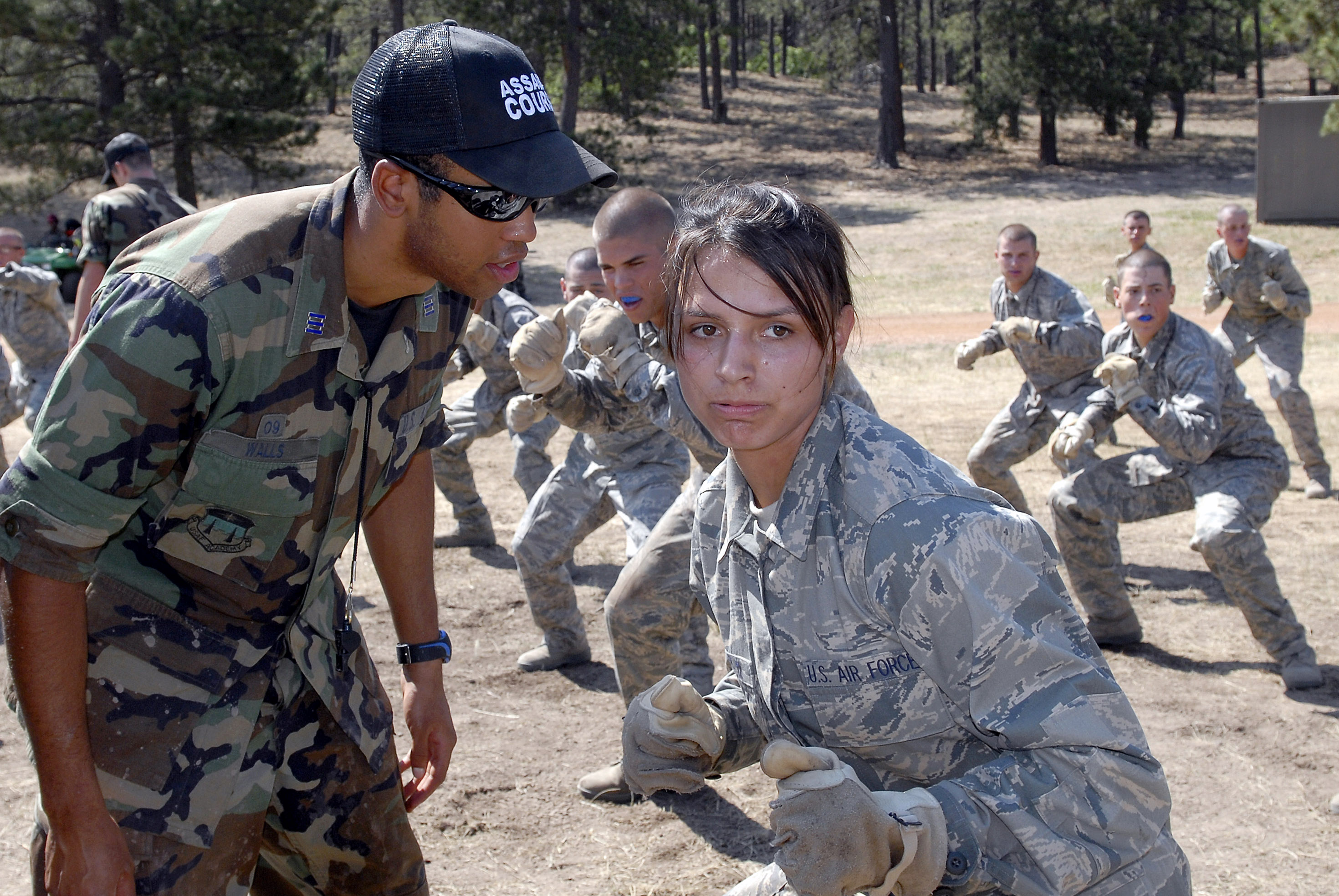 how to get military training at home