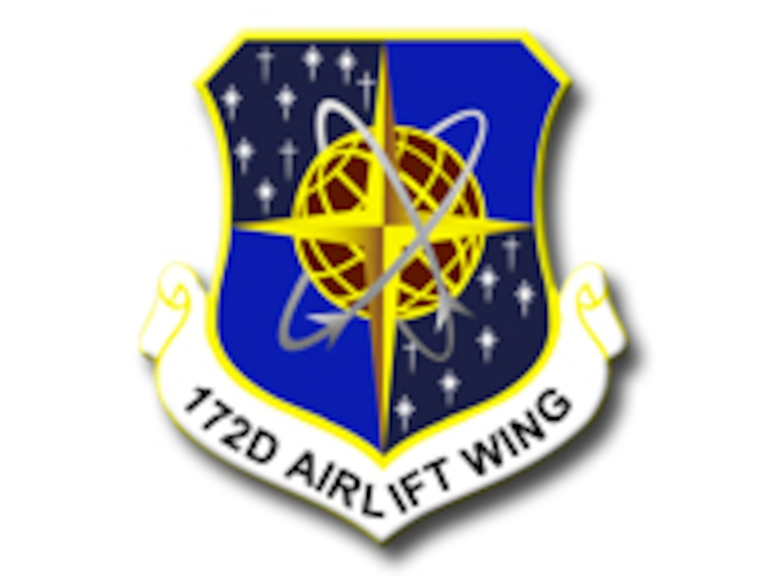 172nd Airlift Wing shield
