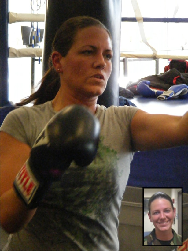 BUCKLEY AIR FORCE BASE, Colo. -- Staff Sgt. Kelly Wallace, 460th Space Wing Chapel, enjoys hitting the gym as one of her hobbies. Sergeant Wallace is the noncommissioned officer in charge of Chapel Operations and is the Warrior of the Week for Aug. 1 - 7. (Courtesy photo)