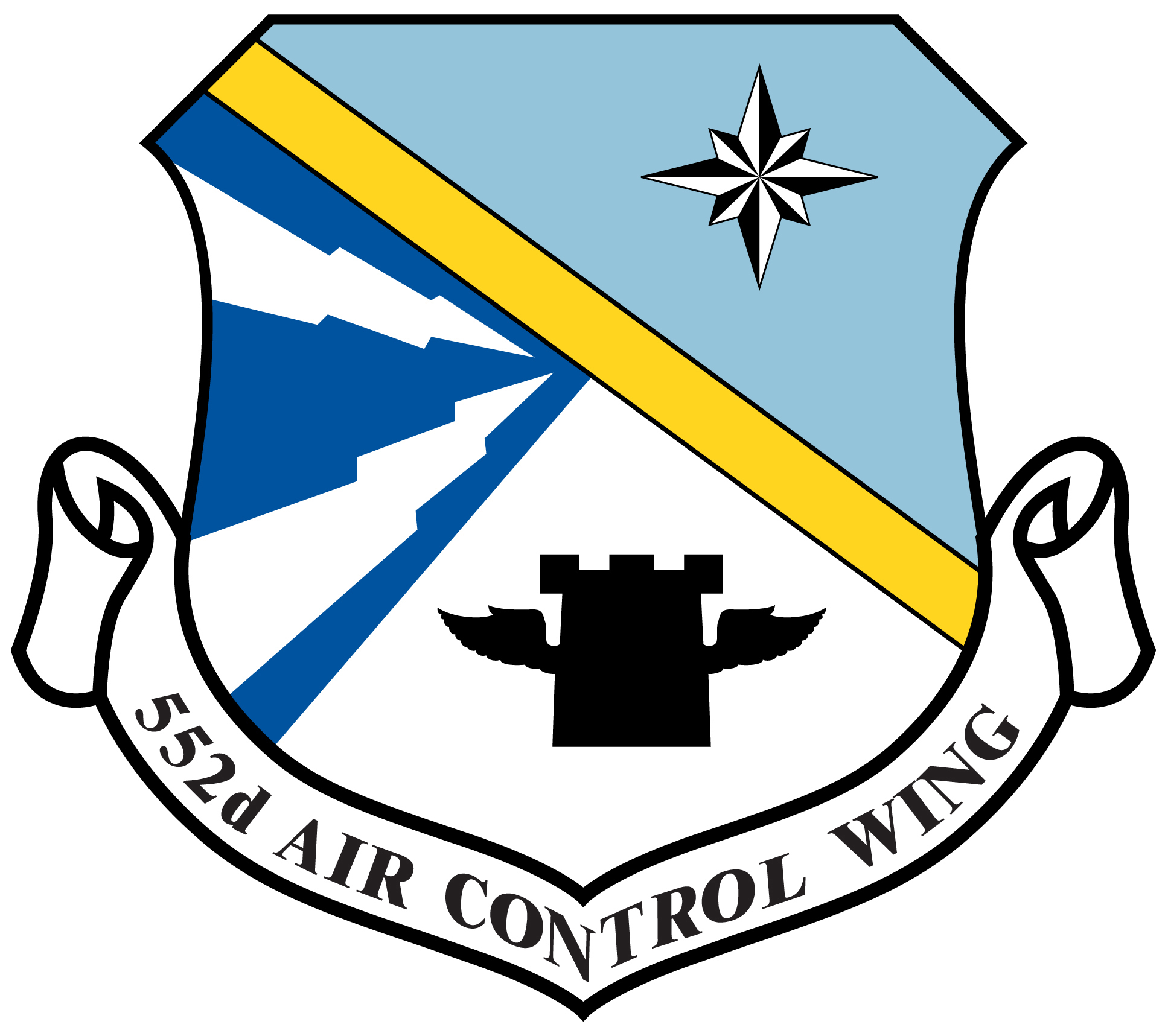 552nd Air Control Wing shield