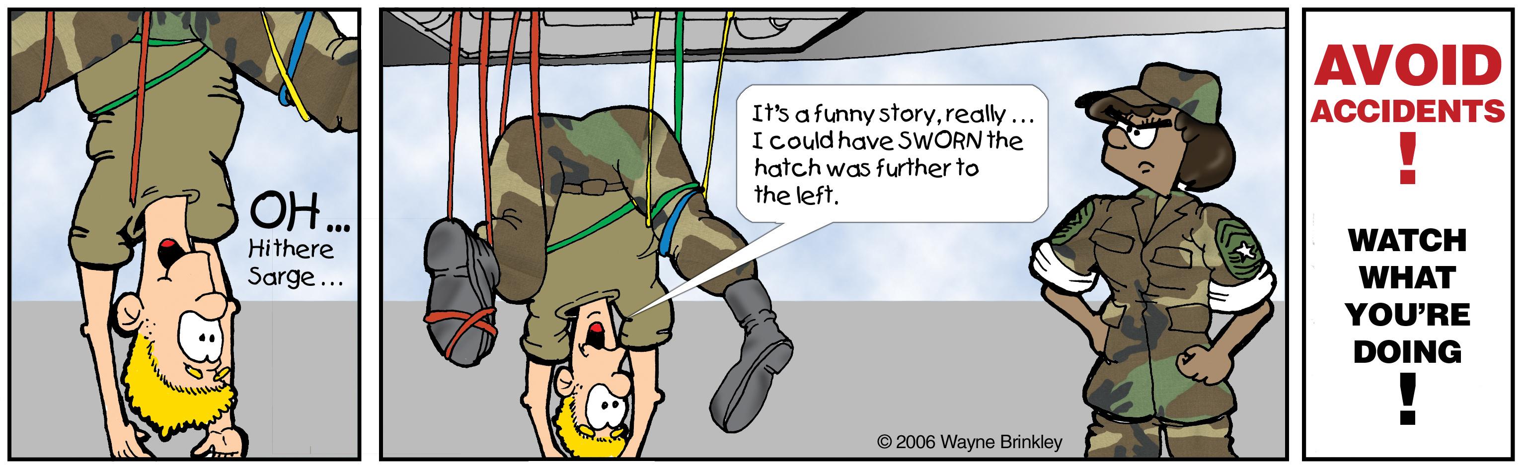 Hanging oops Cartoon