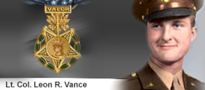 Lt. Col. Leon R. Vance, Medal of Honor recipient. Vance Air Force Base, Okla., is named in his honor. (U.S. Air Force illustration/Mike Carabajal)