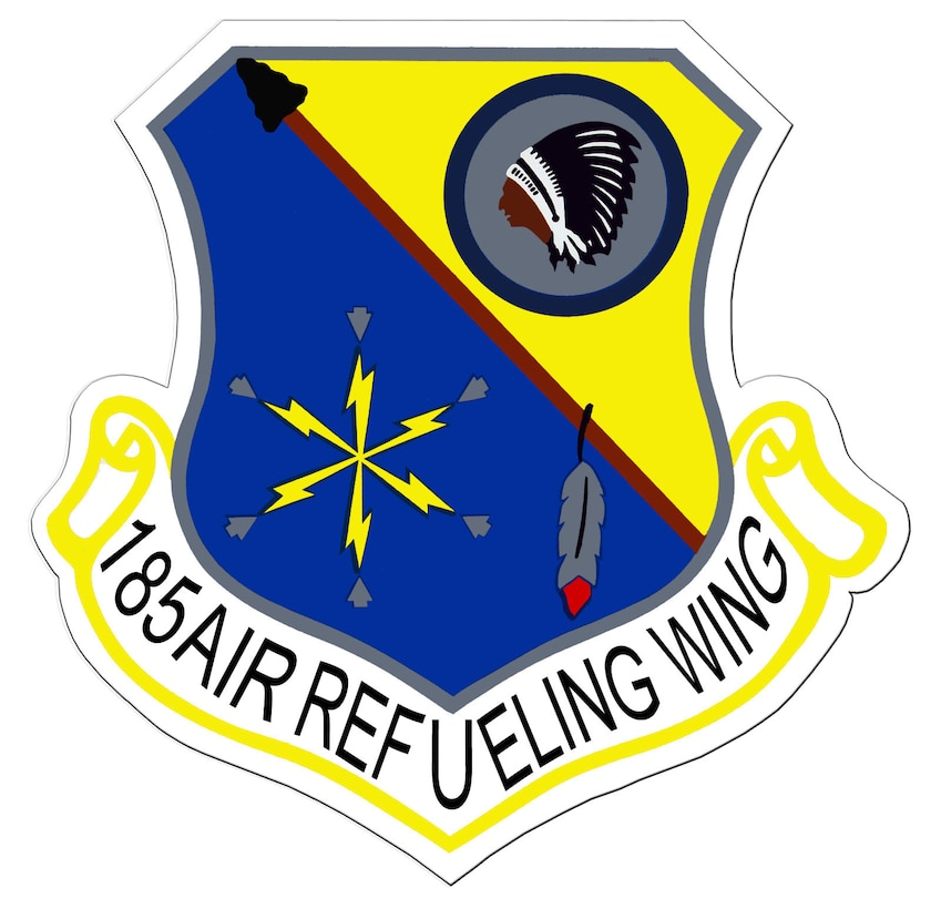 185th Air Refueling Wing (ARW) patch.