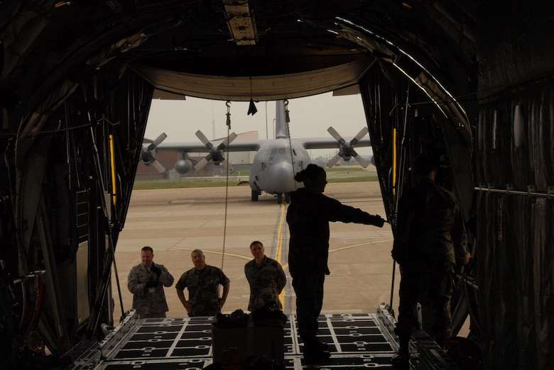 Members of the 107th Maintenance Squadron perform field training on the C-130H2 aircraft at the Niagara Falls Reserve Station.  Various instructors from AETC have been training 107th members on operations of the C-130 aircraft since May 1  because the 107th is converting from the KC-135R to the C-130H2. (U.S. Air Force Photo/ Senior Master Sgt. Raymond Lloyd)