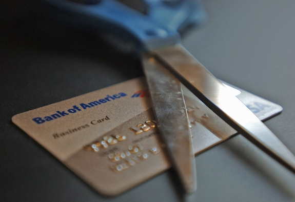Government Travel Cards from Bank of America will soon be replaced by cards issued by Citibank.  Members of the 931st Air Refueling Group are expected to receive new cards in October, but cards from Bank of America should not be destroyed until the Air Force gives guidance to do so.  The Citibank cards are scheduled to be activated on Nov. 30.  (U.S. Air Force photo/Tech. Sgt. Jason Schaap)