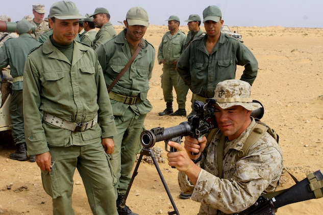 Reserve Marines strengthen US, Moroccan ties at African ...