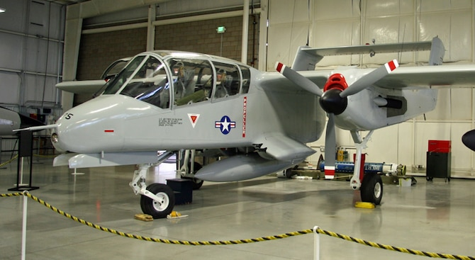 Photo of the much improved (repainted, etc.) of the OV-10.