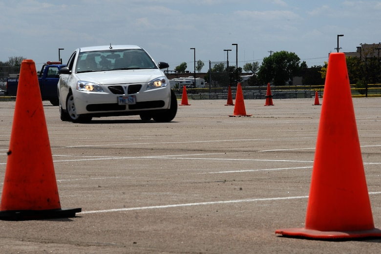 Six Offutt Airmen participated in a controlled drinking and driving exercise May 20 as part of the DUI Experience organized by the 55th Wing Safety Office, 55th Wing Security Forces Squadron, the Omaha chapter of the National Safety Council and Airmen Against Drunk Driving. (U. S. Air Force Photo By/Josh Plueger)