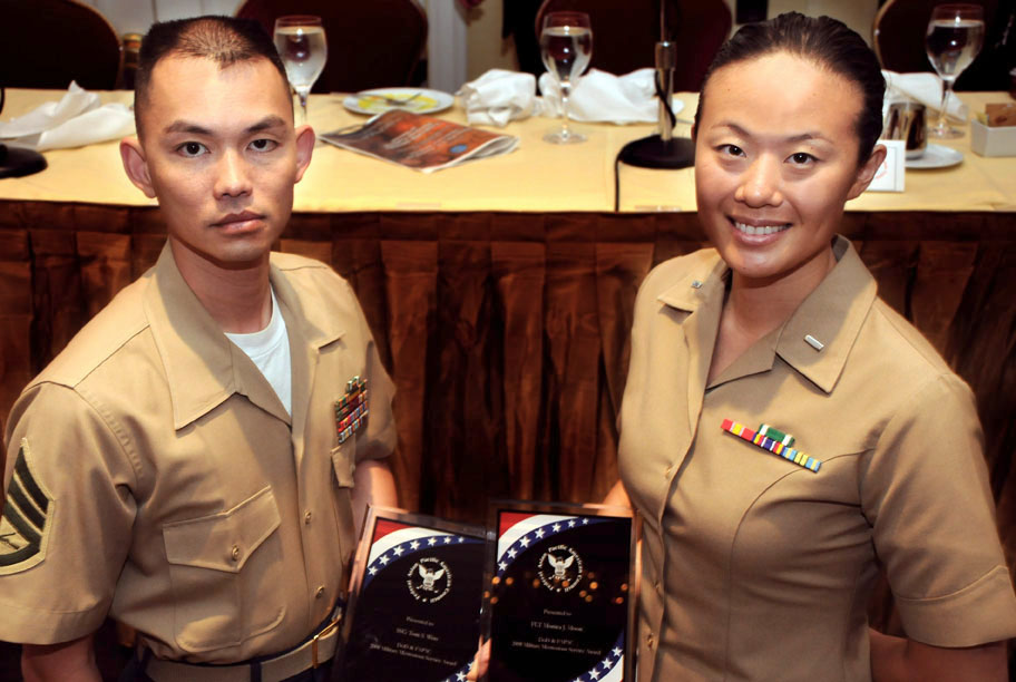 Marines awarded for contributions to asian pacific american download hi res photo sciox Gallery