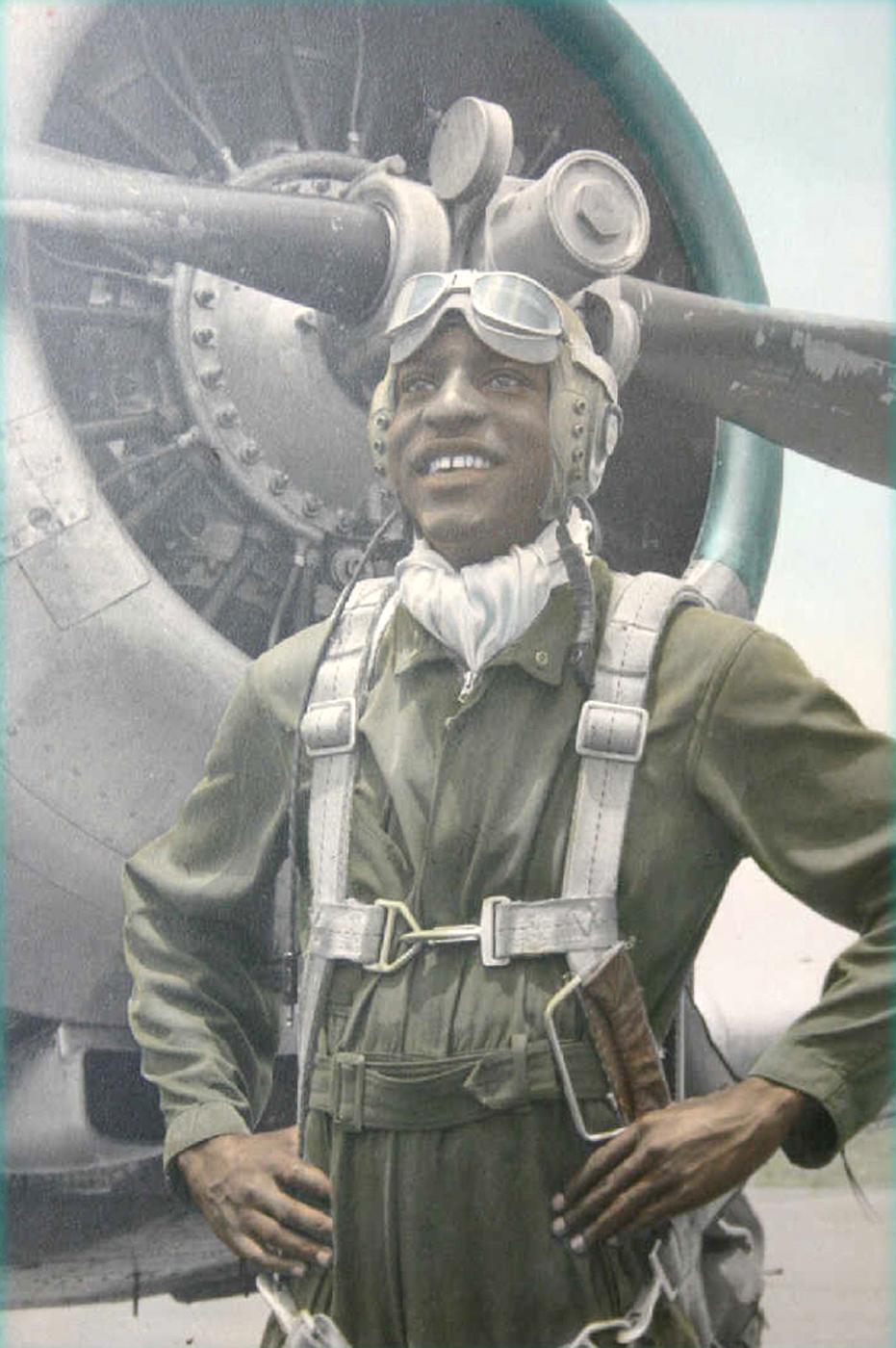 42e59cba626 Legendary Tuskegee pilot addresses base Airmen   Dover Air Force ...