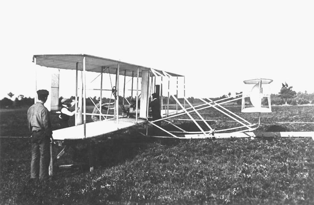 "Wright Model ""A"" 1907-1908, Le Mans France. (10477 A.S.)"