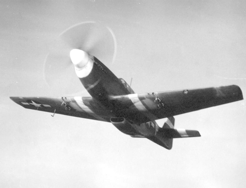 P-51A Mustang in Flight
