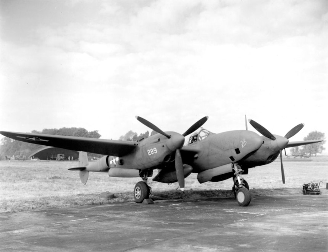 A second view of the F-5B, reconnaissance version of P-38.