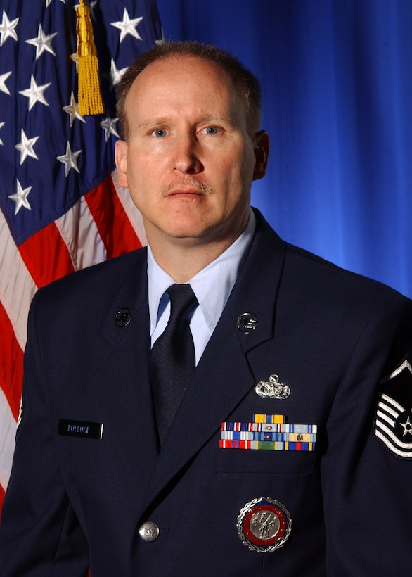 MSGT Mitch Pollock, 174th FW Retention Office Manager.