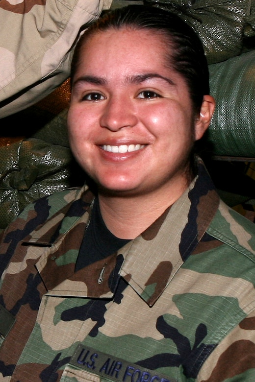 GRISSOM AIR RESERVE BASE, Ind., -- Senior Airman Blanca A. Luna, was a member of the 434th Civil Engineers Squadron. (U.S. Air Force photo)