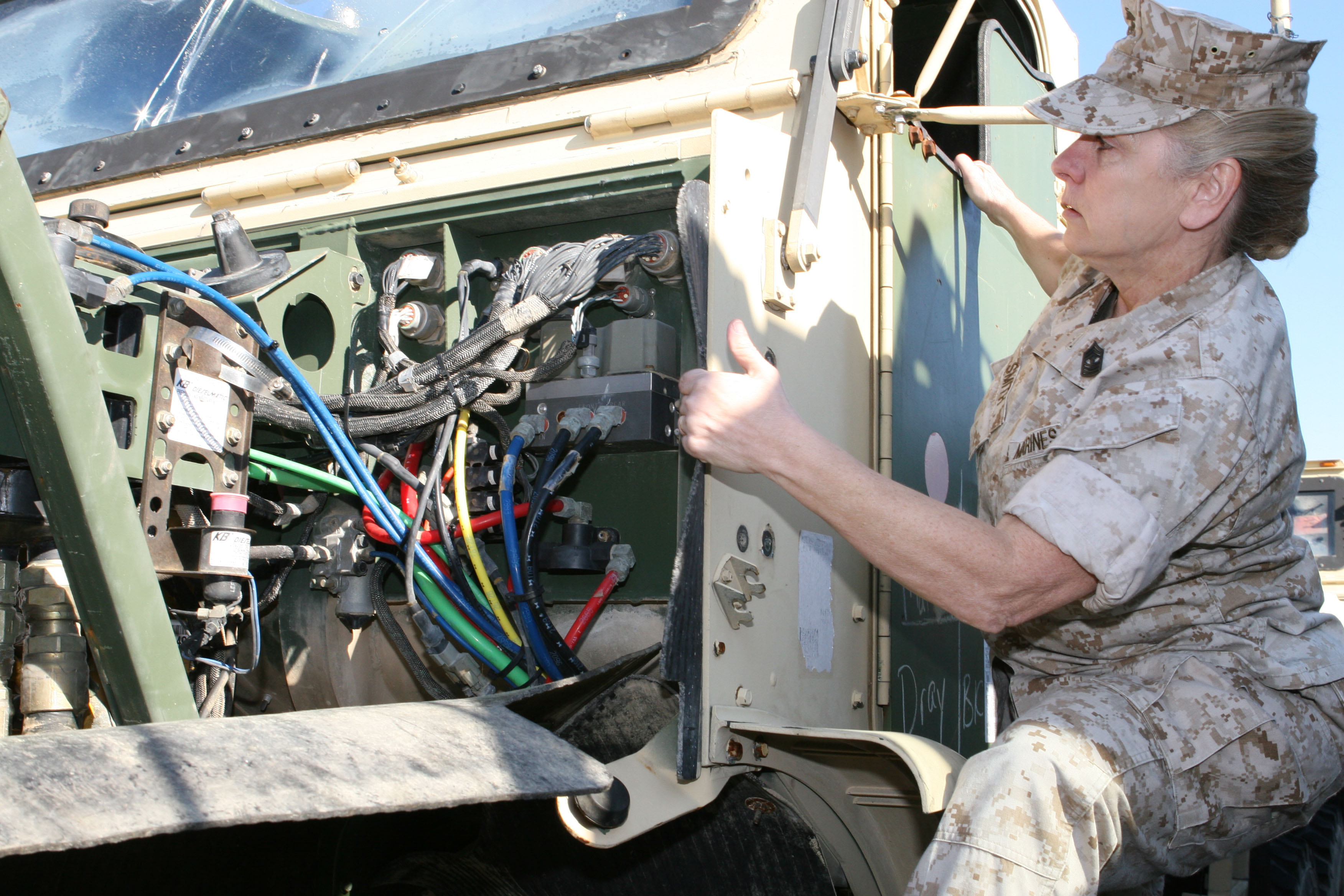 What a difference 31 years makes ii marine expeditionary for Marine corps motor t