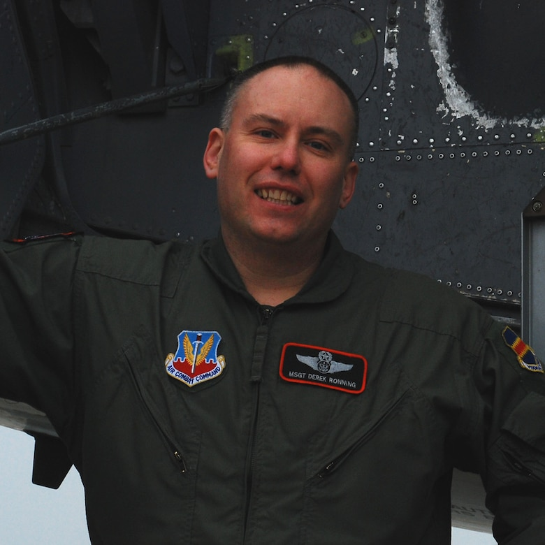 Master Sgt. Derek Ronning assigned to the 338th Combat Training Squadron recently achieved 7,000 flight hours.
