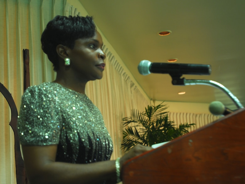 Emceed by SMSgt VANESSA A. SMALLSBRYANT (Commandant, Hickam PME Center).