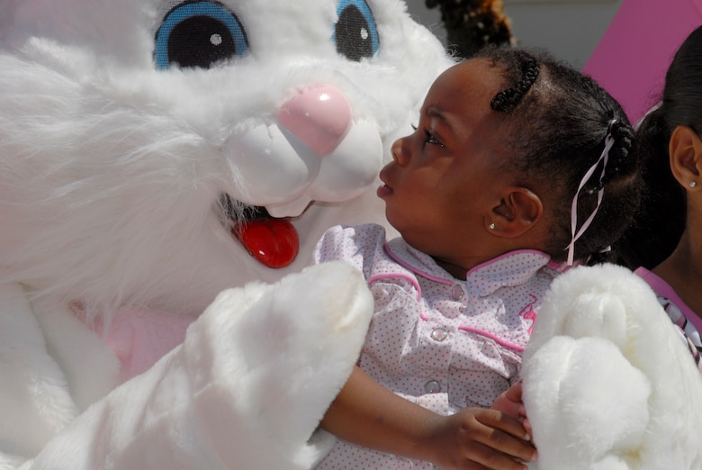 A petting zoo, magic show, Easter egg hunt and visit from the Easter Bunny were all part of the annual Easter celebration on Fort MacArthur March 22. (Photo by Joe Juarez)