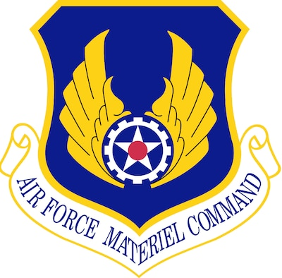 Air Force Materiel Command (AFMC) Shield (Color), U.S. Air Force graphic. In accordance with Chapter 3 of AFI 84-105, commercial reproduction of this emblem is NOT permitted without the permission of the proponent organizational/unit commander.