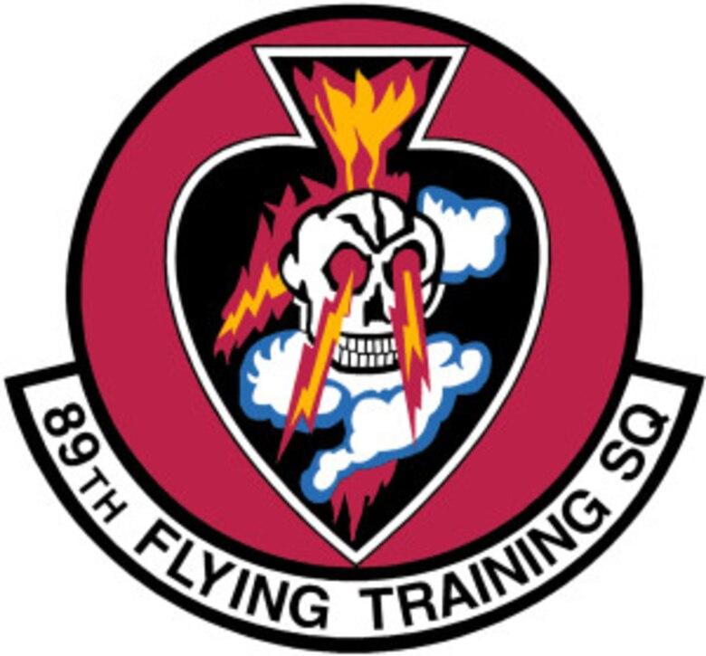 89 Flying Training Squadron Emblem