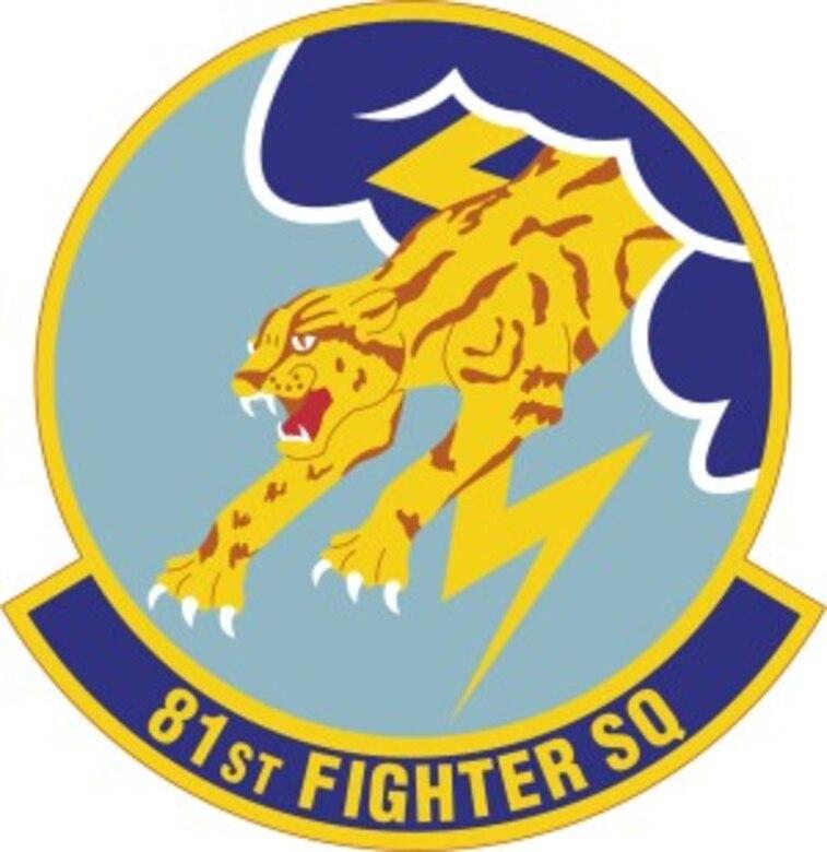 81 Fighter Squadron Emblem