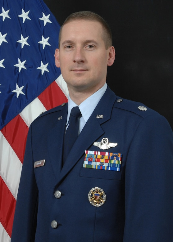 Lt. Col. Gregory Church, 353rd Combat Training Squadron commander.