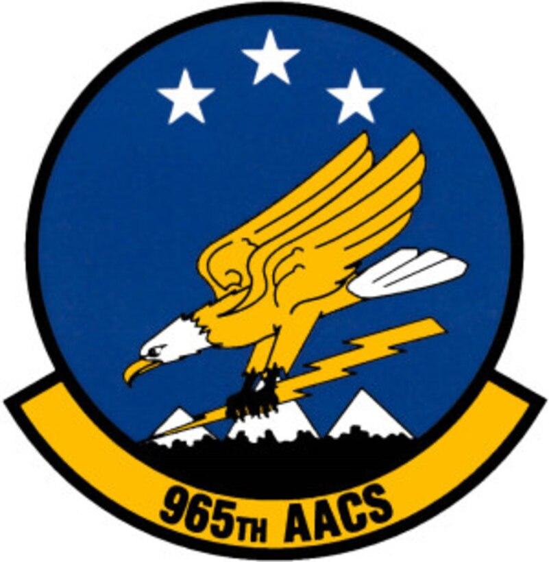 965 Airborne Air Control Squadron Emblem