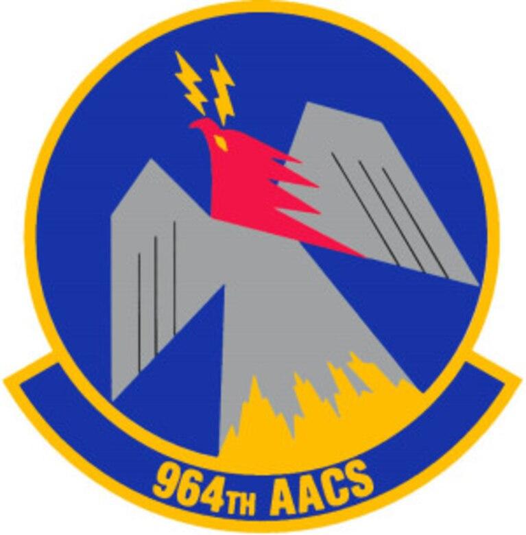964 Airborne Air Control Squadron Emblem