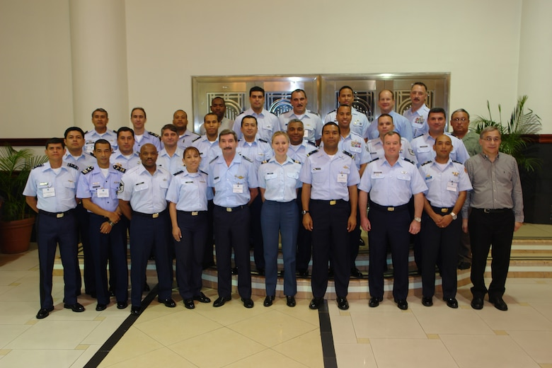 Twenty-Nine safety officials from North, South and Central America gathered in the Republic of Panama, April 15-16, to exchange safety intiatives with partner nations to prevent accidents and reduce safety related mishaps involving equiment and personnel resources. Countries in attendance included Argentina, Belize, Brazil, Canada, Chile, Colombia, the Dominican Republic, El Salvador, Guatemala, Mexico, Panama, the United States, and Uruguay.
