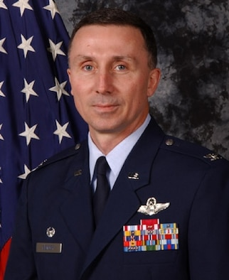 Col. Bill Bender, 86th Airlift Wing and KMC commander