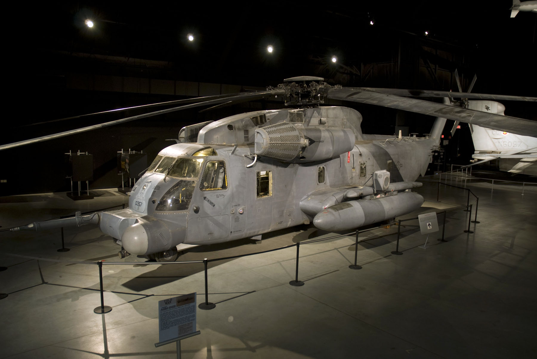 sikorsky mh 53m pave low iv national museum of the us air force display. Black Bedroom Furniture Sets. Home Design Ideas