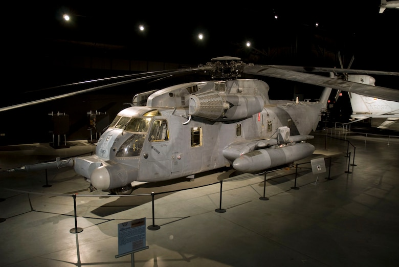DAYTON, Ohio - Sikorsky MH-53M Pave Low IV on display in the Cold War Gallery at the National Museum of the U.S. Air Force. (U.S. Air Force photo)