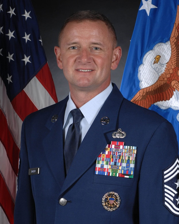 Chief Master Sgt. Lloyd Hollen II