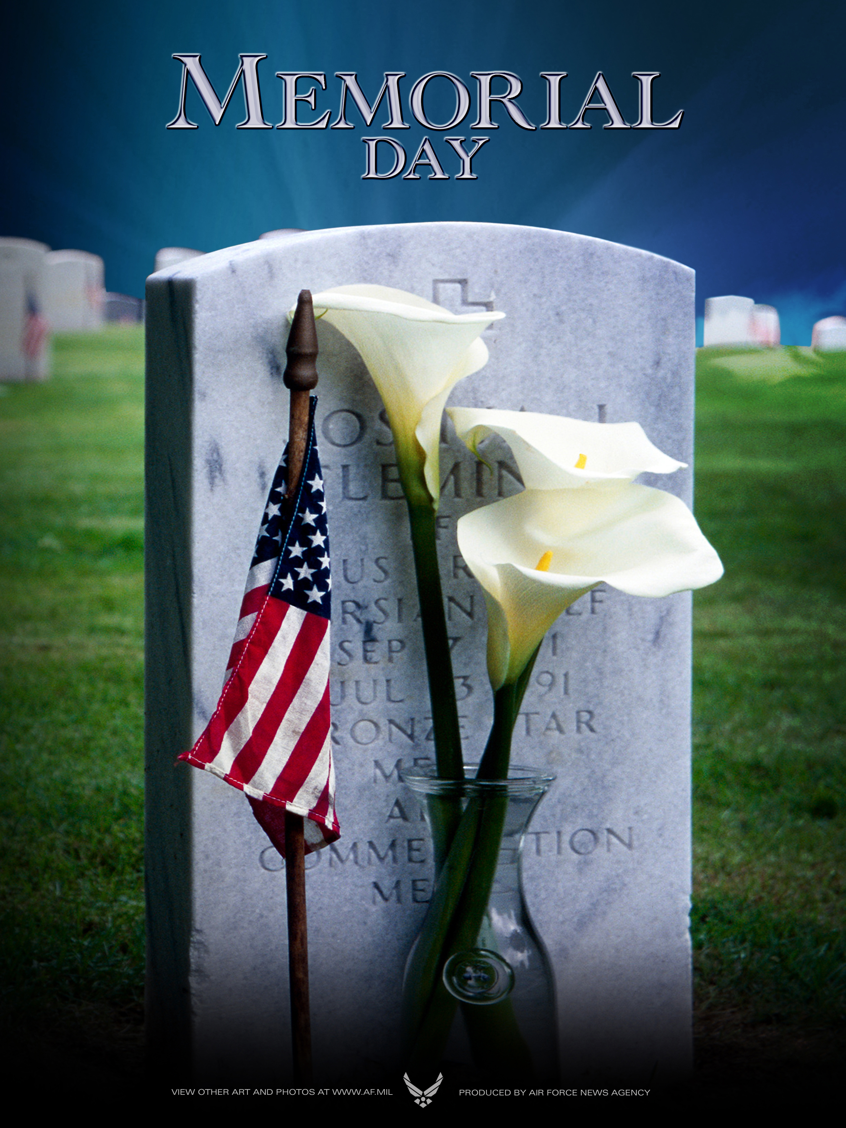 memorial day posters available for download u s air force