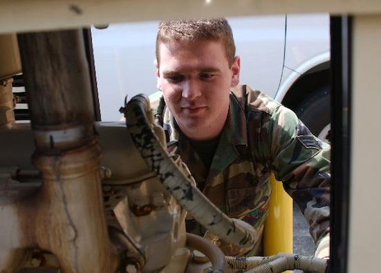 Senior Airman John Bosley