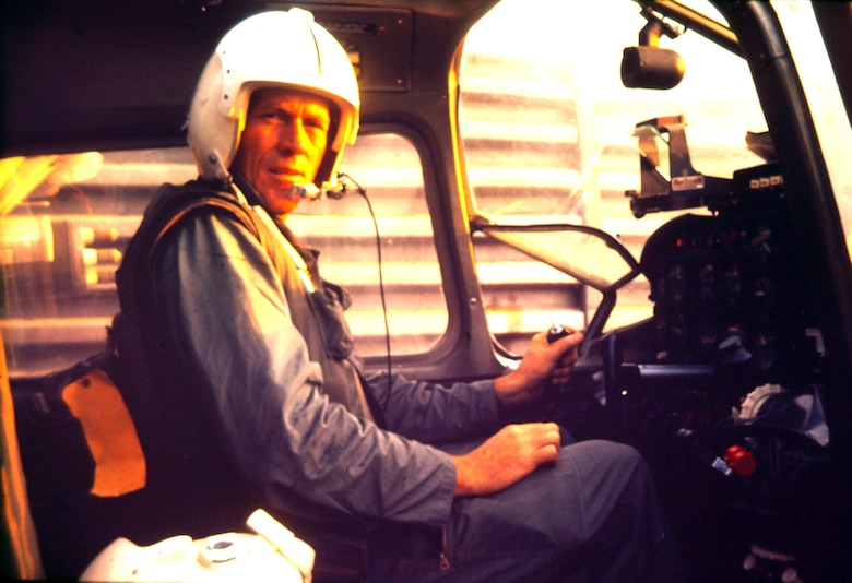Maj. Robert F. Woods sits in the pilot seat of an 02-A Skymaster in Vietnam in 1968.  On June 26, 1968, Major Woods disappeared in the Quang Binh Province in Vietnam after the 02-A Skymaster he was flying crashed in a remote mountainous region.  A native of Salt Lake City, Utah, Major Woods was in the military for 20 years when he disappeared. His career began in June 1948 as an enlisted aircrew member on a C-74 Globemaster in the Berlin Airlift.  In 1951 he became an officer and a pilot flying KC-97 Stratotankers in the Korean Conflict.  In Vietnam, he served as a forward air controller in the Skymaster with the 20th Tactical Air Support Squadron in DaNang Air Base, South Vietnam. He earned his first of eight Air Medals in Korea and also earned the Distinguished Flying Cross and Bronze Star for his service in Vietnam.  On April 9, 2008, he was laid to rest at Arlington National Cemetery nearly 40 years after he disappeared.  (Photo courtesy of the Woods family)