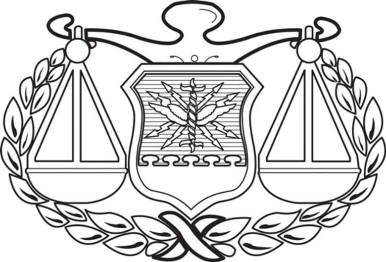 Judge Advocate AFSC Badge